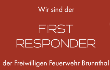 Wir sind der FIRST RESPONDER …