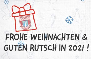 Wir wünschen frohe und gesegnete Weihnachten!