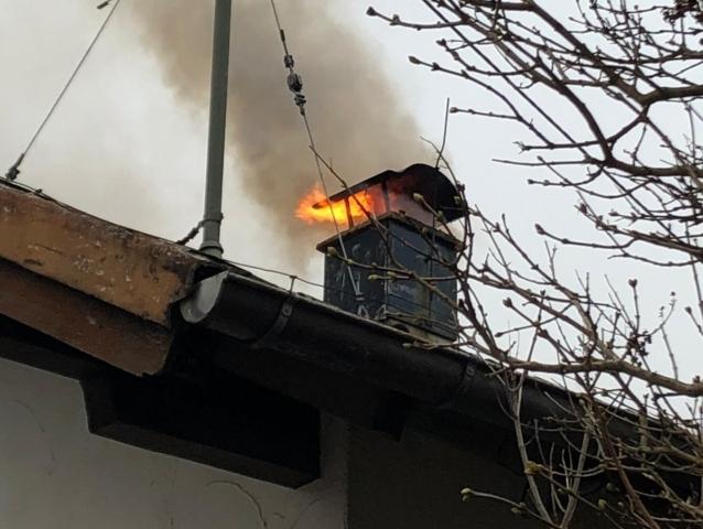 Kaminbrand Januar 2019