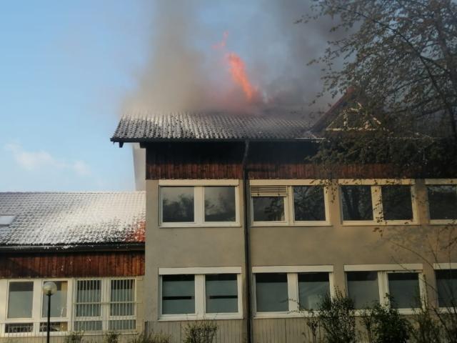 Brand Oberhaching Impfzentrum