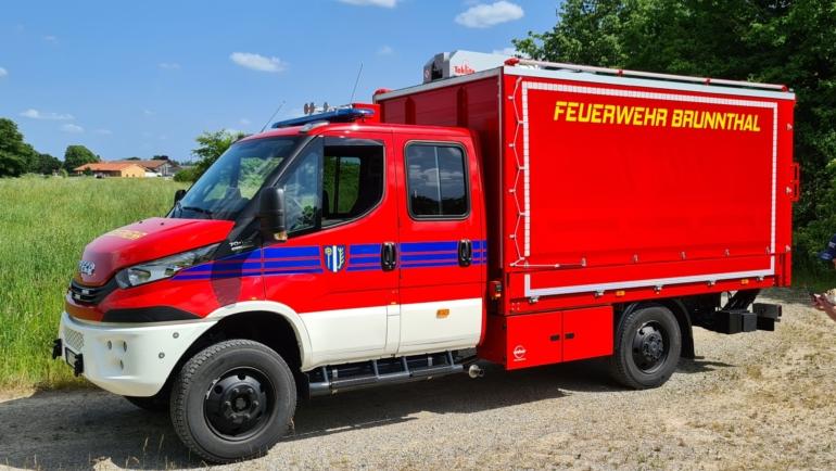 Wachablösung bei der Feuerwehr Brunnthal